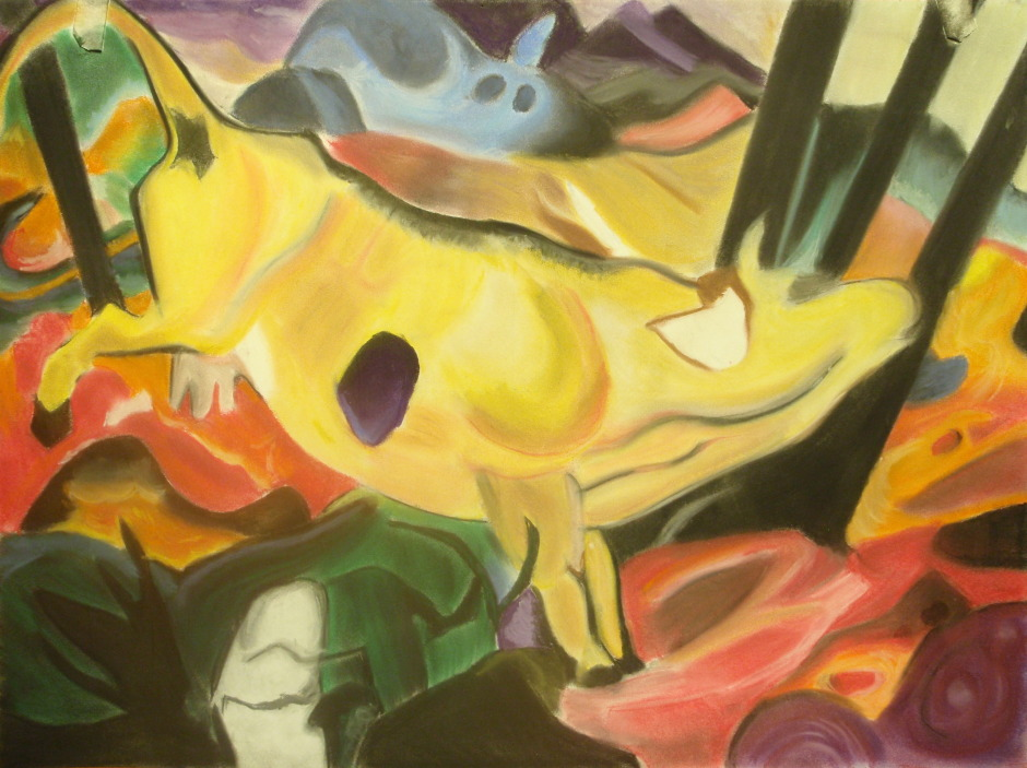 Copy of Yellow Cow by Franz Marc